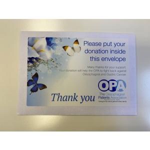 Funeral/Fundraising Envelopes