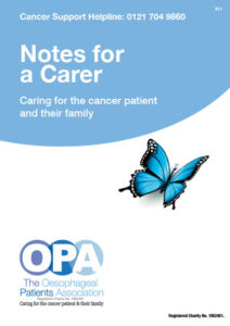 Notes for a Carer