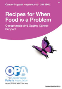 OPA Recipes for When Food is a Problem