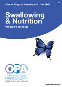 Swallowing - Nutrition when it's difficult