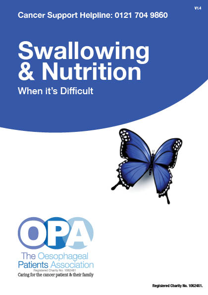 Swallowing & Nutrition when its difficult